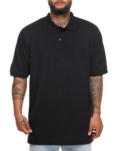 Basic Essentials - Basic Solid Pique S/S Polo (B&T)