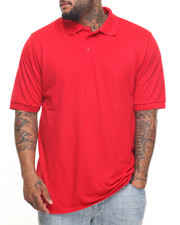 Big & Tall - Basic Solid Pique S/S Polo (B&T)-2009507