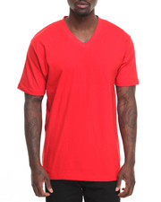 Basic Essentials - Basic V - Neck S/S Tee-2009327