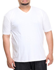 Big & Tall - Basic V - Neck S/S Tee (B&T)-2010681