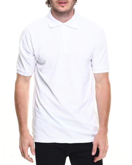 Basic Essentials - SOLID S/S PIQUE POLO