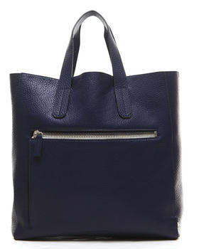 -FEATURES- - Pebble Leather Tote