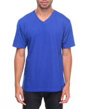 Basic Essentials - Basic V - Neck S/S Tee-2023405