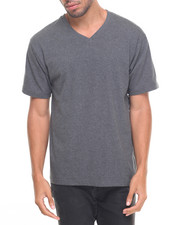 Basic Essentials - Basic V - Neck S/S Tee-2023354