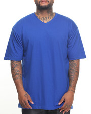 Big & Tall - Basic V - Neck S/S Tee (B&T)-2023002