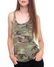 DRJ Army/Navy Shop - Rothco Womens Camo Racerback Tank Top-2022223