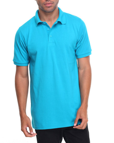 Basic Essentials - Basic Solid Pique S/S Polo