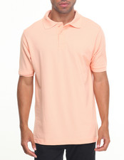 Basic Essentials - Basic Solid Pique S/S Polo-2028199