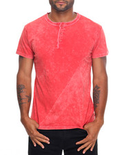 The Summer Deals Shop - Pigment Dyed S/S Henley Tee