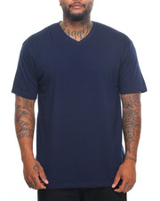 Basic Essentials - Basic V - Neck S/S Tee (B&T)-2028467