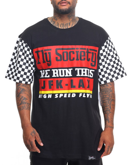 Flysociety - Racing T-Shirt (B&T)