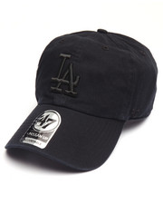 NBA, MLB, NFL Gear - Los Angeles Dodgers Black on Black Clean Up 47 Strapback Cap