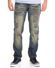Men - Raucous Rip - And - Repair Denim Jeans