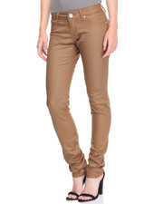 Jeans - Coated Twill Skinny Jean