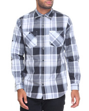 Shirts - Prince Plaid L/S Button-Down