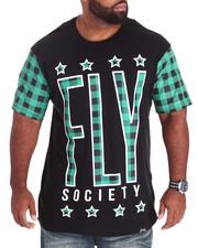 Flysociety - Plaid T-Shirt (B&T)