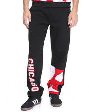 Men - Chicago Patched Fleece Pants