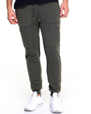 Pants - Quilt Stitch Fleece Jogger