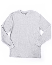 Boys - Long Sleeve V-Neck Thermal Shirt (8-20)-2052482