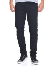 Men - Fly Society Twill Moto Denim Jean