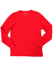 Boys - L/S V-NECK THERMAL (8-20)-2052477