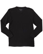Boys - L/S V-NECK THERMAL (8-20)-2052462