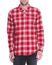 Men - Vice L/S Flannel Button-Down