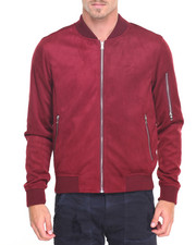 Outerwear - Microfiber Bomber Jacket