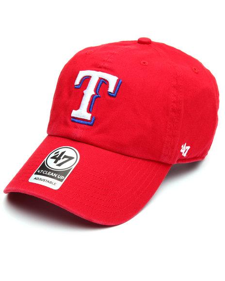 '47 - Texas Rangers Alternate Clean Up 47 Strapback Cap