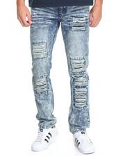 Men - Enyce Distressed Denim Jeans