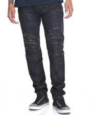Men - Coated MotoCross Jean