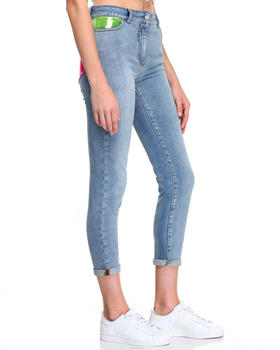 Denim - PASTEL POCKET SKINNY JEANS