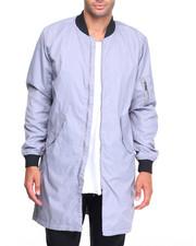 Light Jackets - Ma 1  Elongated Contrast Nylon Jacket-2059675