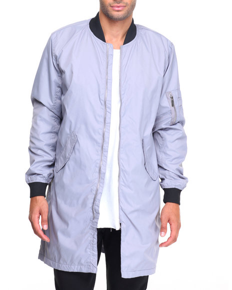Buyers Picks - Ma 1  Elongated Contrast Nylon Jacket