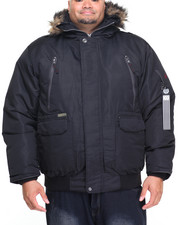 Heavy Coats - Everest 80/20 Down Filled Snorkel Bomber (B&T)