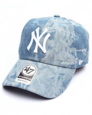 Accessories - New York Yankees Hard Wash Clean Up 47 Strapback Cap