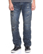 Straight - Roc Distressed Jeans