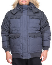 Men - Hooded Bubble Jacket (B&T)