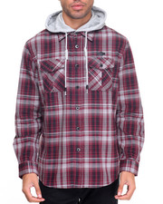 Button-downs - Popover Hoody