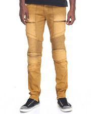 Jeans & Pants - Next Level Coated Moto Denim Jeans