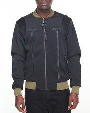 Vie + Riche - Contrast Rib Jacket