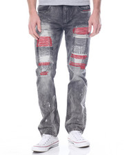 Men - Zig Zag Denim Jean