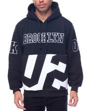 Men - Brooklyn Patched Fleece Pullover Hoodie