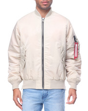Outerwear - M A 1 - Style Side - Zip Bomber Jacket