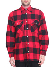 DRJ Army/Navy Shop - Rothco Extra Heavyweight Buffalo Plaid Flannel Shirts-1946607