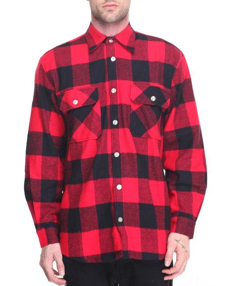 Rothco - Rothco Extra Heavyweight Buffalo Plaid Flannel Shirts