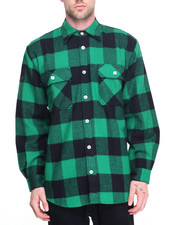 DRJ Army/Navy Shop - Rothco Extra Heavyweight Buffalo Plaid Flannel Shirts-1946592