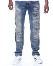 Men - Dirty Torn Vintage Wash Jean