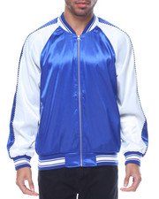 Men - Plain Satin Jacket
