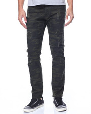Jeans & Pants - Stretch Fabric Camo Pants